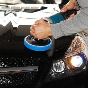 Polerowanie samochodu czarnego Białystok