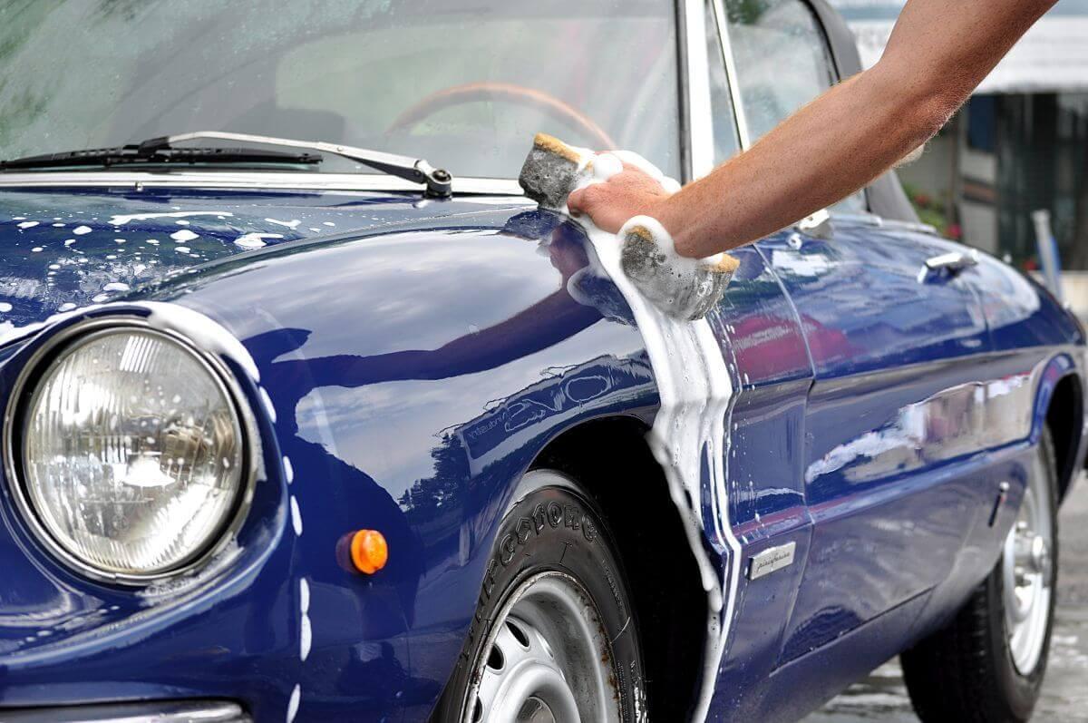 Blacharstwo samochodowe i mycie auta po naprawie Białystok